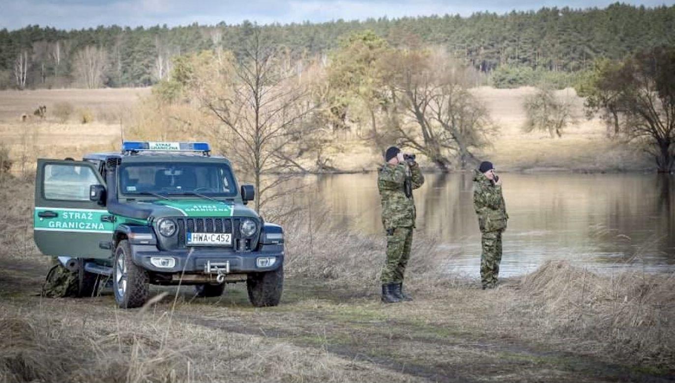 Tylko w tym roku, przez Polskę, do Niemiec przybyło ponad sześć tysięcy migrantów (fot. tt/Straż Graniczna)