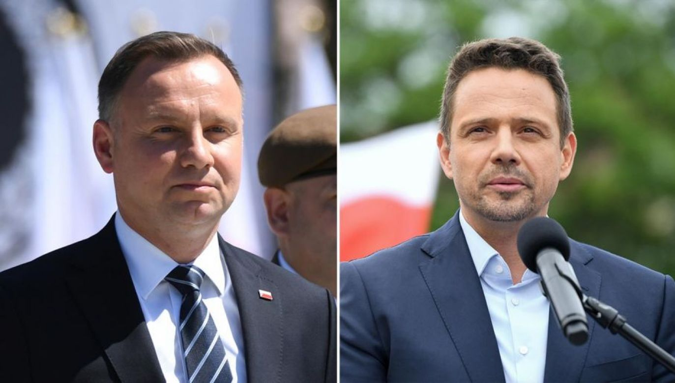 Wybory prezydenckie 2020. Polacy wybiorą: Andrzej Duda czy Rafał Trzaskowski (fot. PAP/Darek Delmanowicz)