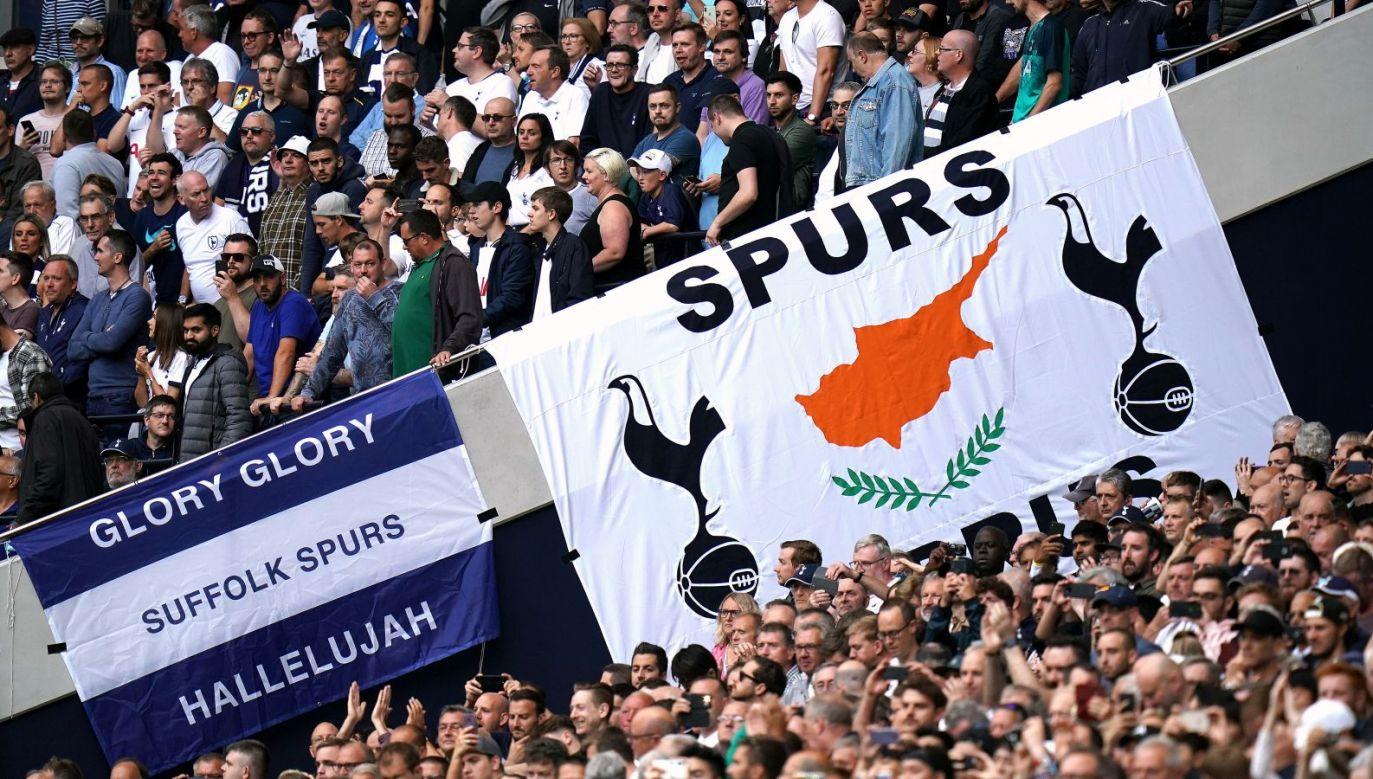 Kibice Tottenhamu Hotspur (fot. Getty Images)