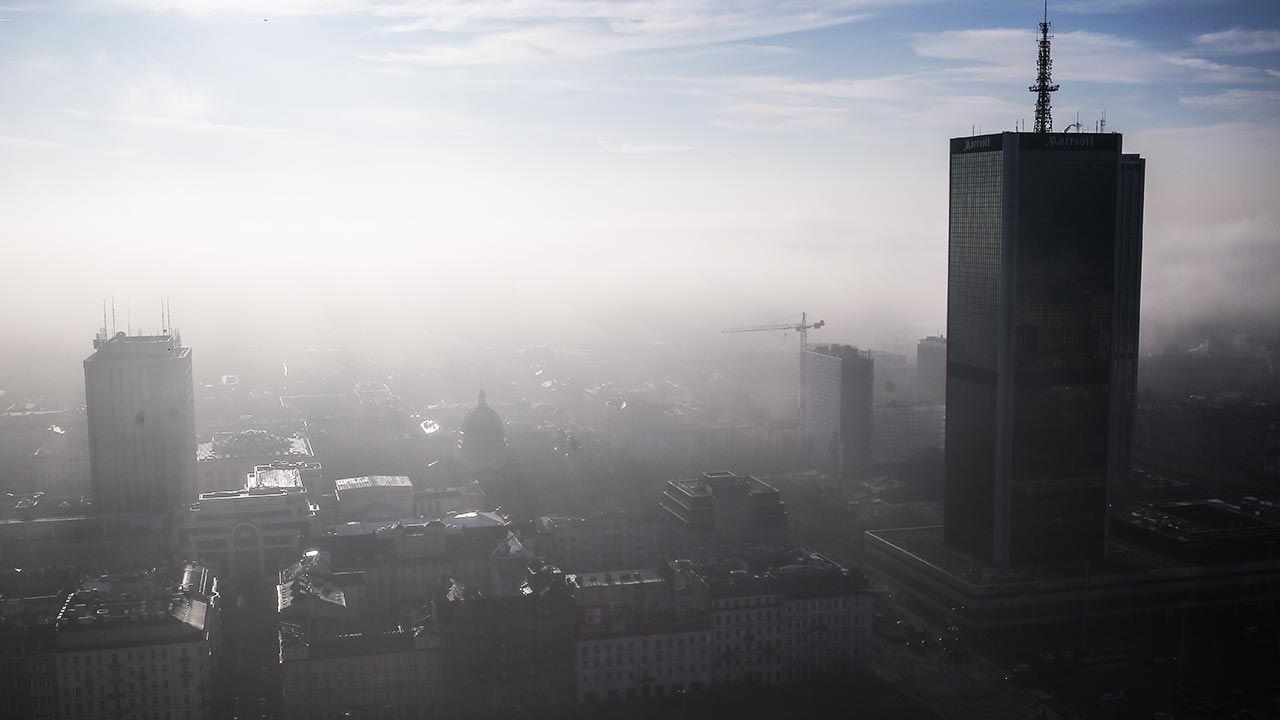 W powietrzu unoszą się różne pyły (fot. Forum/Michal Dyjuk)
