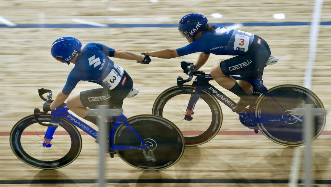 Wśród skradzionych rowerów były pokryte złotem i z wydrukowanymi w technologii 3D kierownice (fot. PAP/EPA/YOAN VALAT)