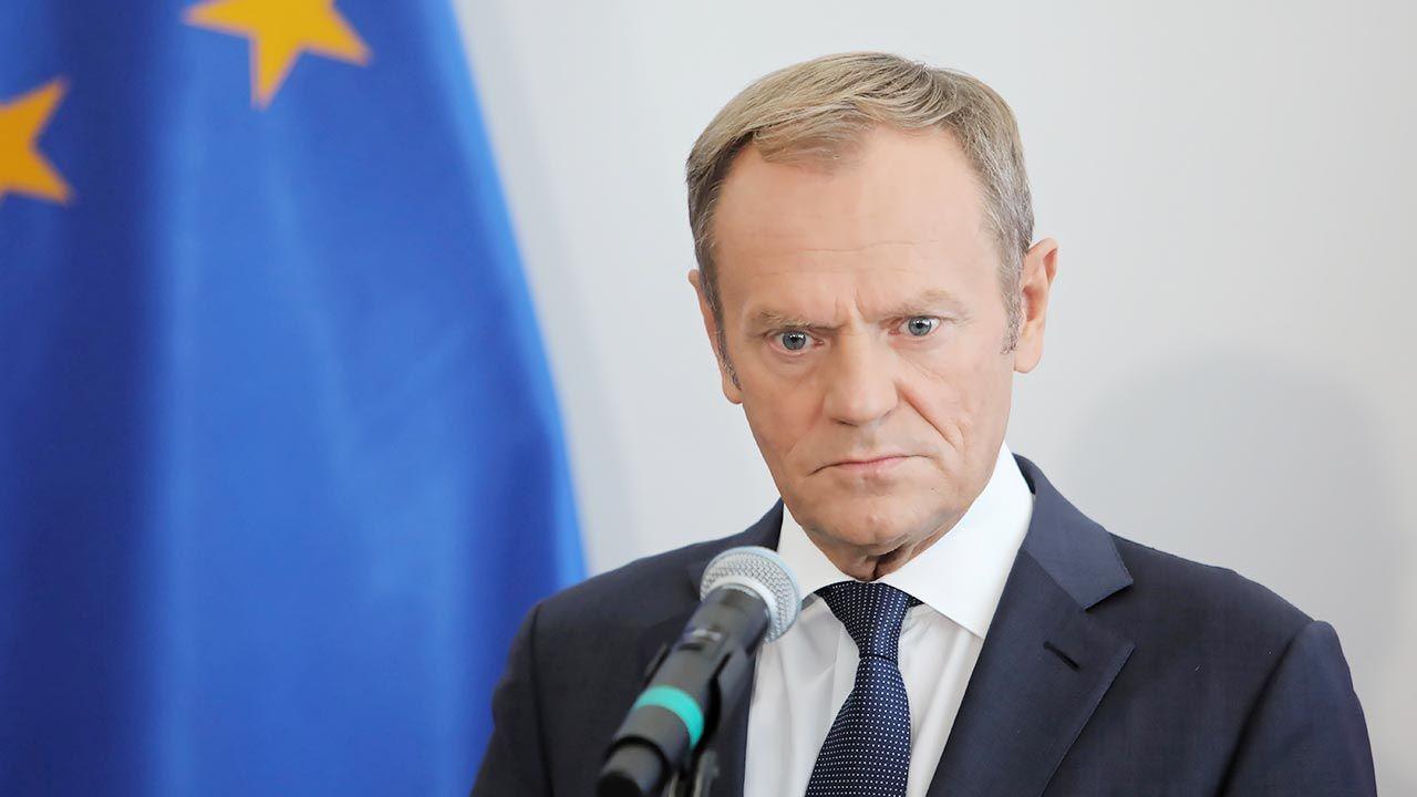 """""""Nie ma sensu kopać się z koniem"""" (fot. PAP/Wojciech Olkuśnik)"""