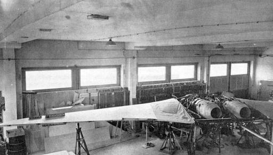 Niemcy stworzyli samolot odrzutowy o konstrukcji latającego skrzydła (fot. Domena publiczna)