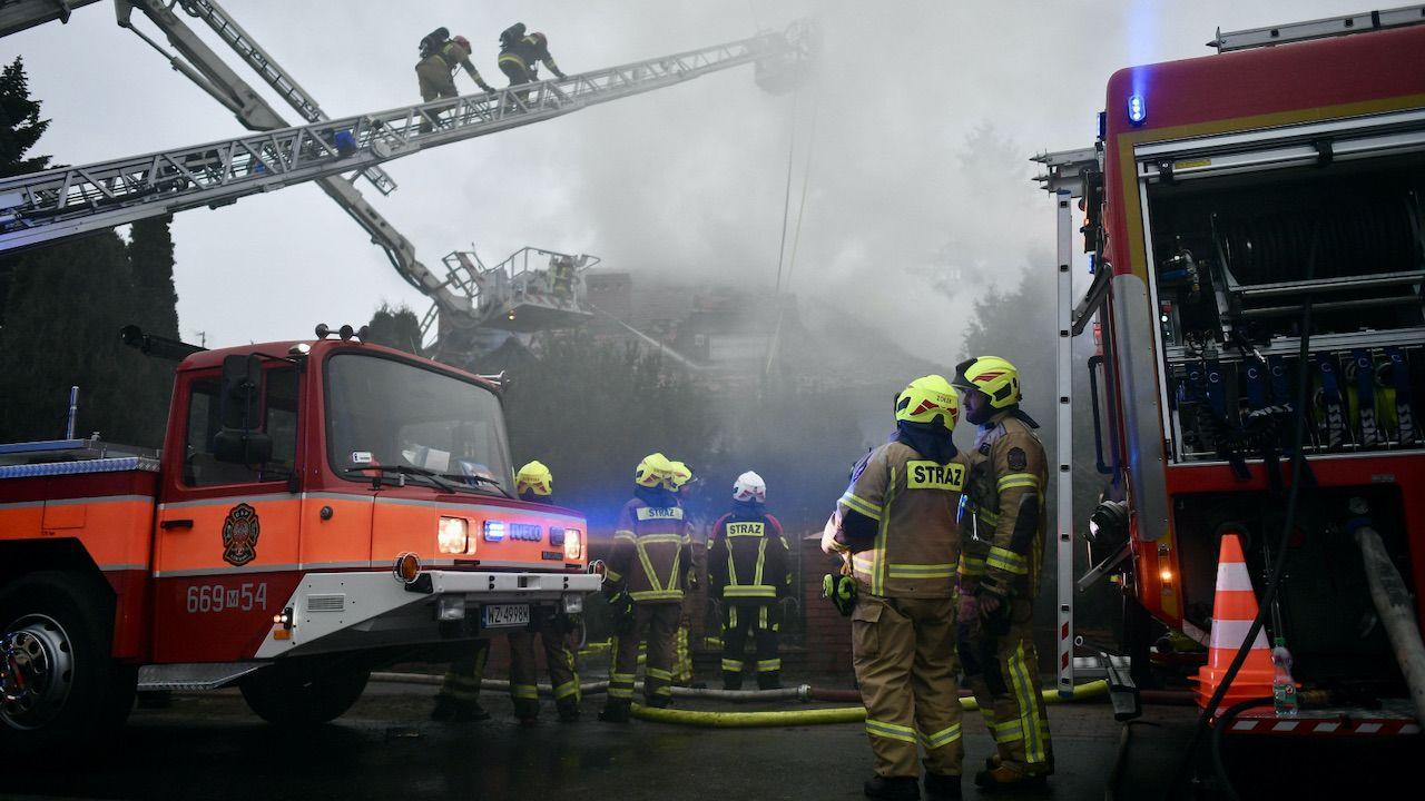 Żaden z pracowników  nie został poszkodowany (fot. PAP, zdjęcie ilustracyjne)