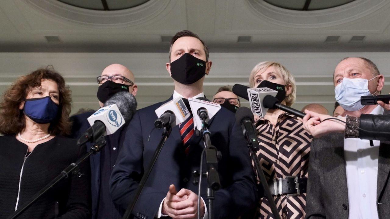 Koalicja Polska obecnie nazywa się: Koalicja Polska - PSL, UED, Konserwatyści (fot. PAP/Mateusz Marek)