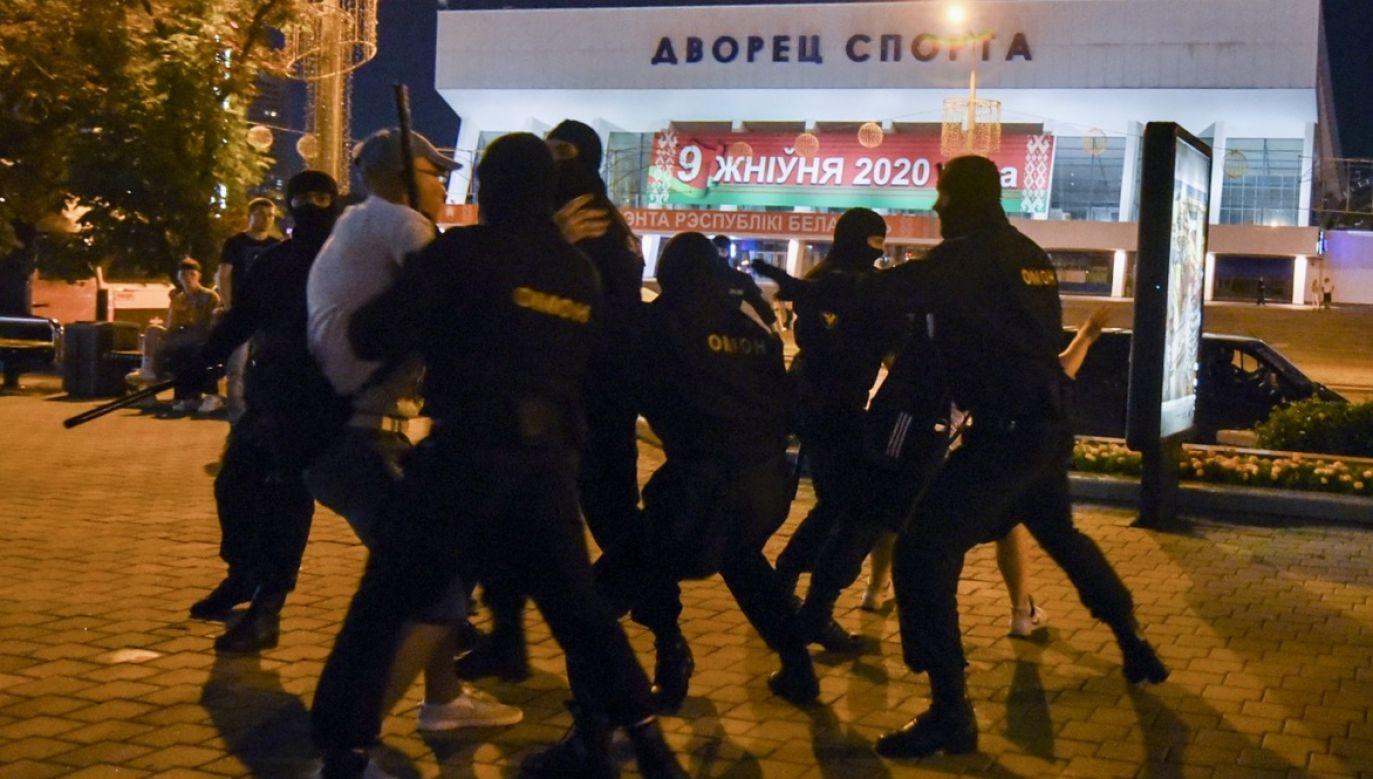 Zamieszki po wyborach prezydenckich na Białorusi (fot. PAP/EPA)