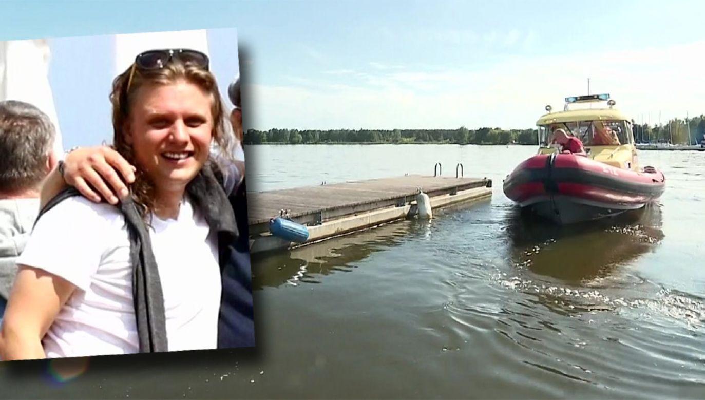 Poszukiwania Piotra Woźniaka-Staraka trwają kolejną dobę (fot. TVP1)
