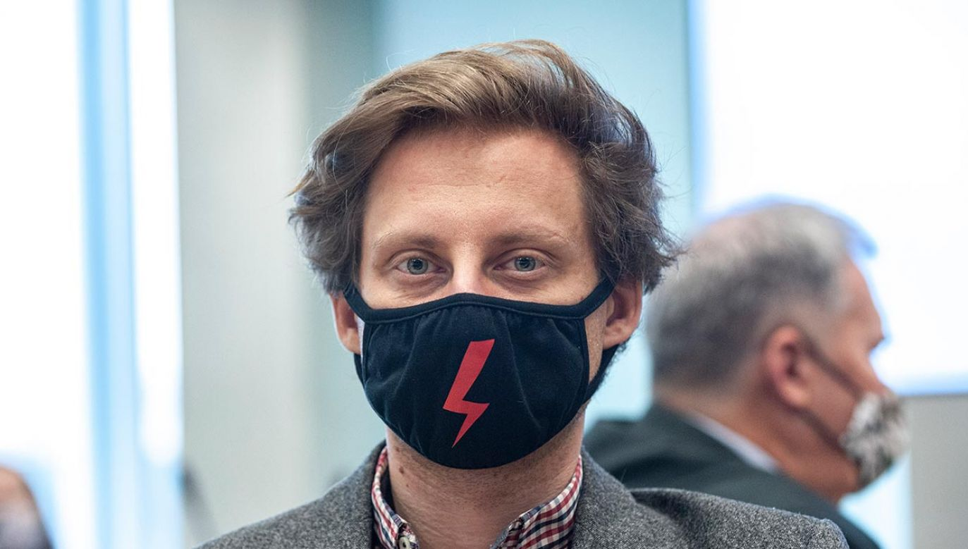Franek Sterczewski (fot. Forum/FotoNews/GRZEGORZ KRZYZEWSKI)
