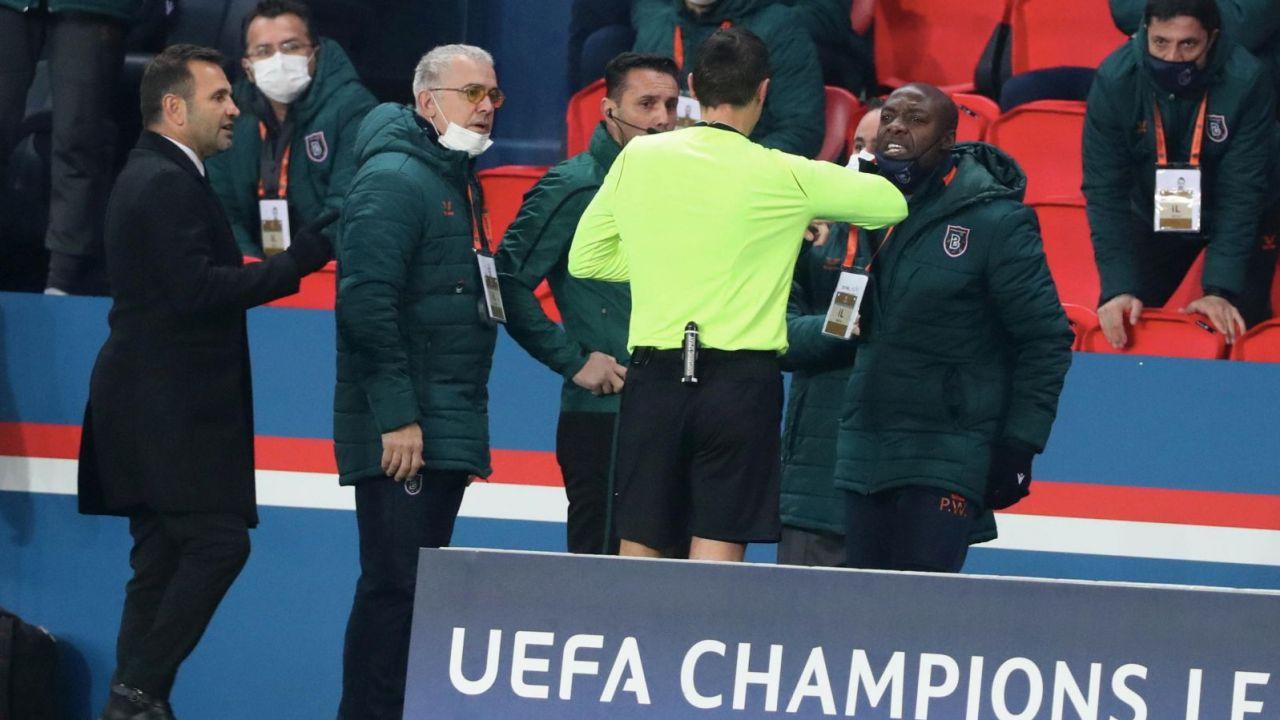 Skandal rasistowski w meczu PSG z Basaksehirem. UEFA przeprowadzi dochodzenie (sport.tvp.pl)