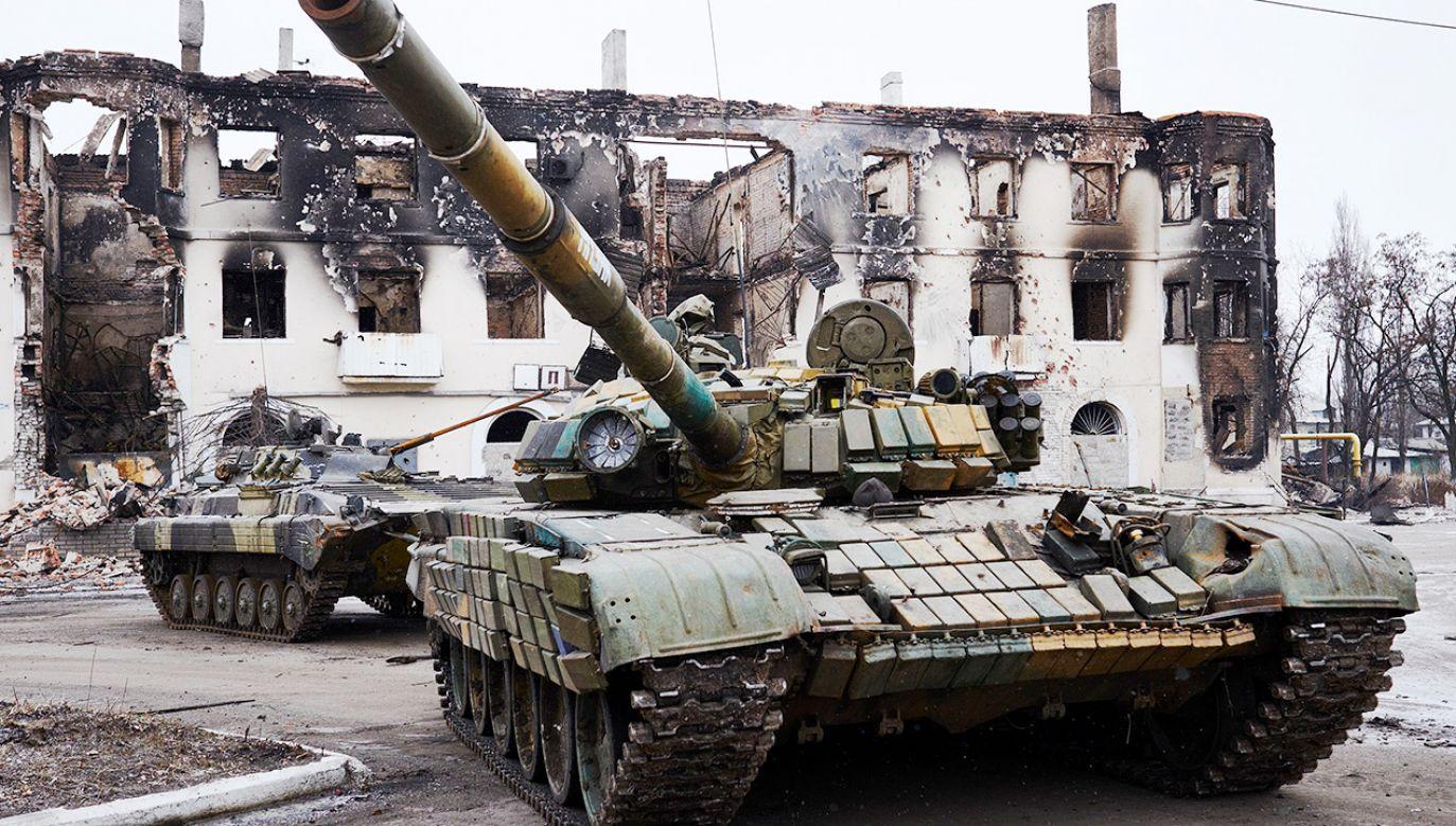 Dwie rosyjskie armie przy granicy z Ukrainą (fot. Pierre Crom/Getty Images)