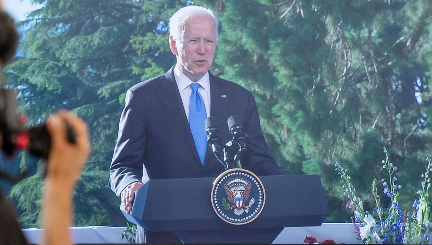 Joe Biden ocenił, że dla samej Rosji niekorzystna jest utrata przez nią wiarygodności (fot. RvS.Media/Monika Majer/Getty Images)