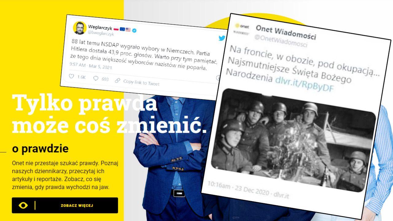 Wpis Węglarczyka wywołał oburzenie i drwiny ze strony wielu użytkowników Twittera (fot. mat. pras.)