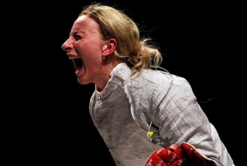 Aleksandra Socha wystartuje w turnieju indywidualnym w szabli (fot. PAP)