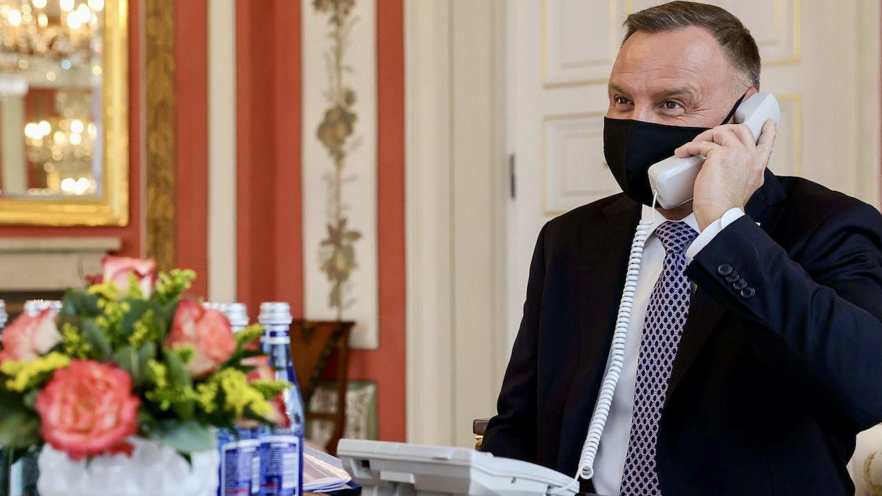 Hejt na prezydenta Dudę za rozmowę telefoniczną (fot. Grzegorz Jakubowski/KPRP)