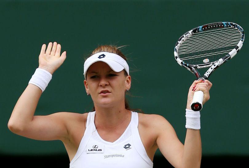Polka nie zdołała odnieść największego sukcesu w historii polskiego tenisa (fot. Getty Images)