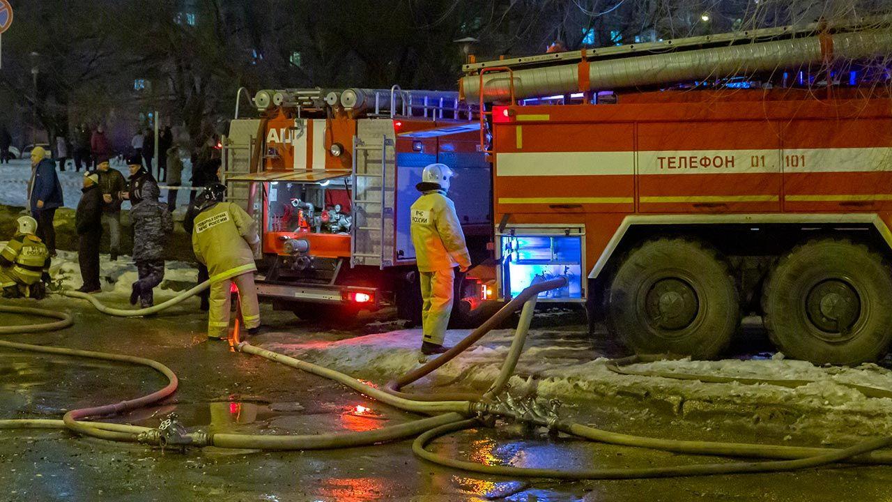 Bezpieczeństwo pożarowe jest poważnym problemem w Rosji (fot. Shutterstock/Tramp57)