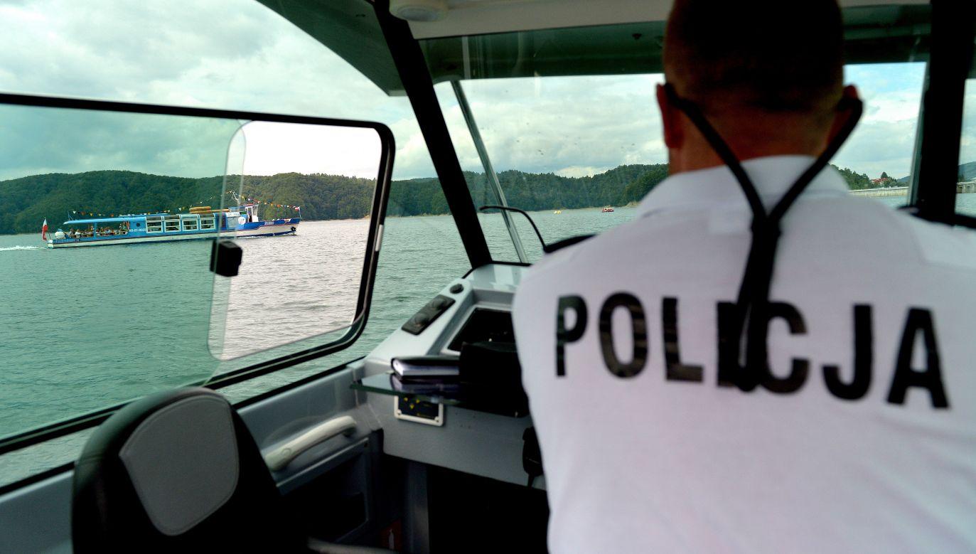 Jak powiedział mł. asp. Rafał Jackowski z komendy wojewódzkiej policji w Olsztynie, ten weekend był wyjątkowo tragiczny nad wodą w woj. warmińsko-mazurskim (fot. arch.PAP/Darek Delmanowicz, zdjęcie poglądowe)