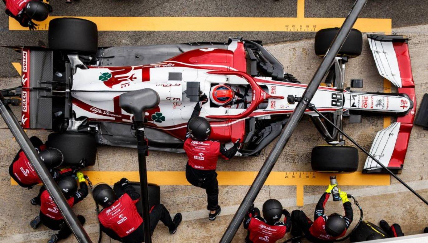 Robert Kubica jest kierowcą testowym ekipy Alfa Romeo (fot. mat.pras.)