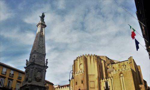 Plac Gesù Nuovo (fot. Agnieszka Wasztyl)