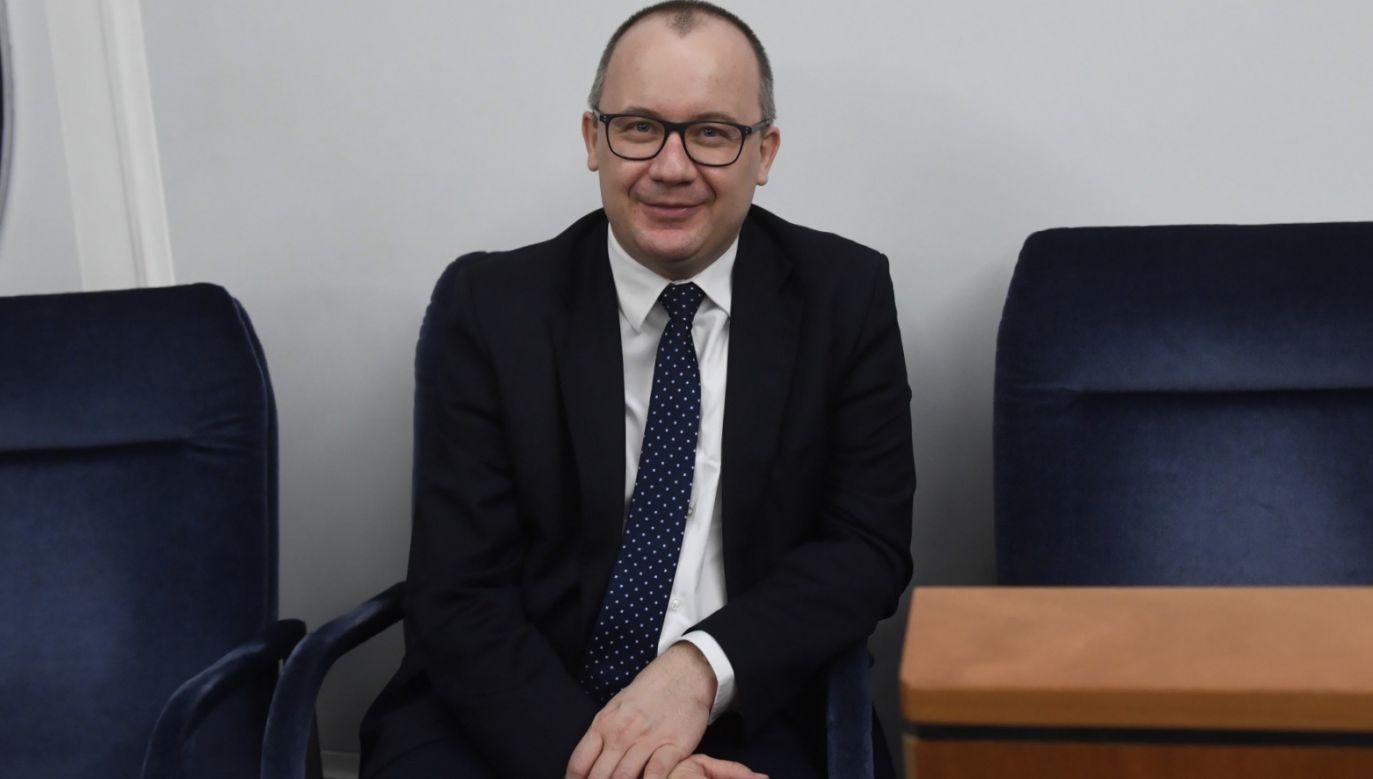 """Zupełnie inaczej zachował się Bodnar, kiedy """"Wyborcza"""" brutalnie zaatakowała p.o. I prezesa Sądu Najwyższego Kamila Zaradkiewicza (fot. PAP/Radek Pietruszka)"""
