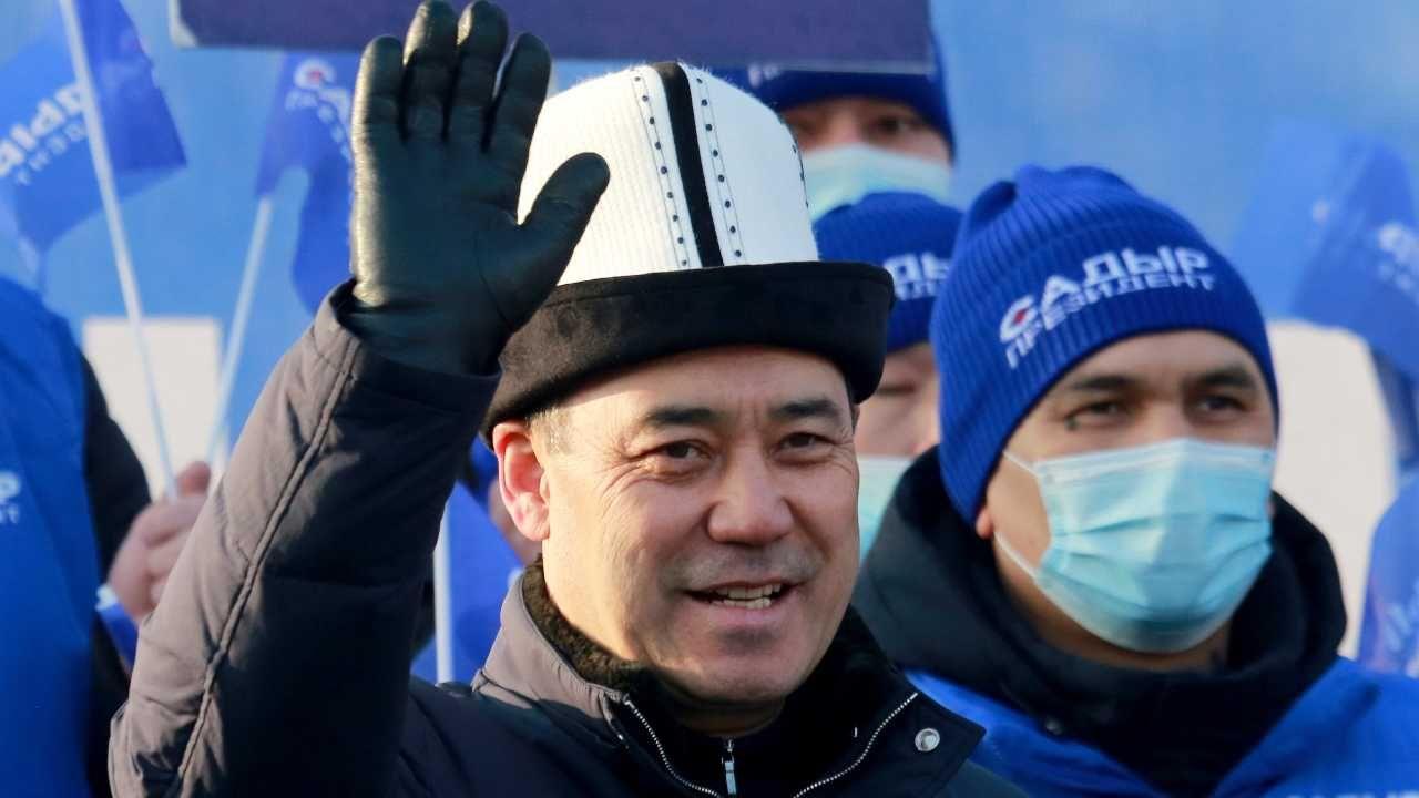 Sadyr Dżaparow został nowym prezydentem Kirgistanu (fot. PAP/EPA/IGOR KOVALENKO)