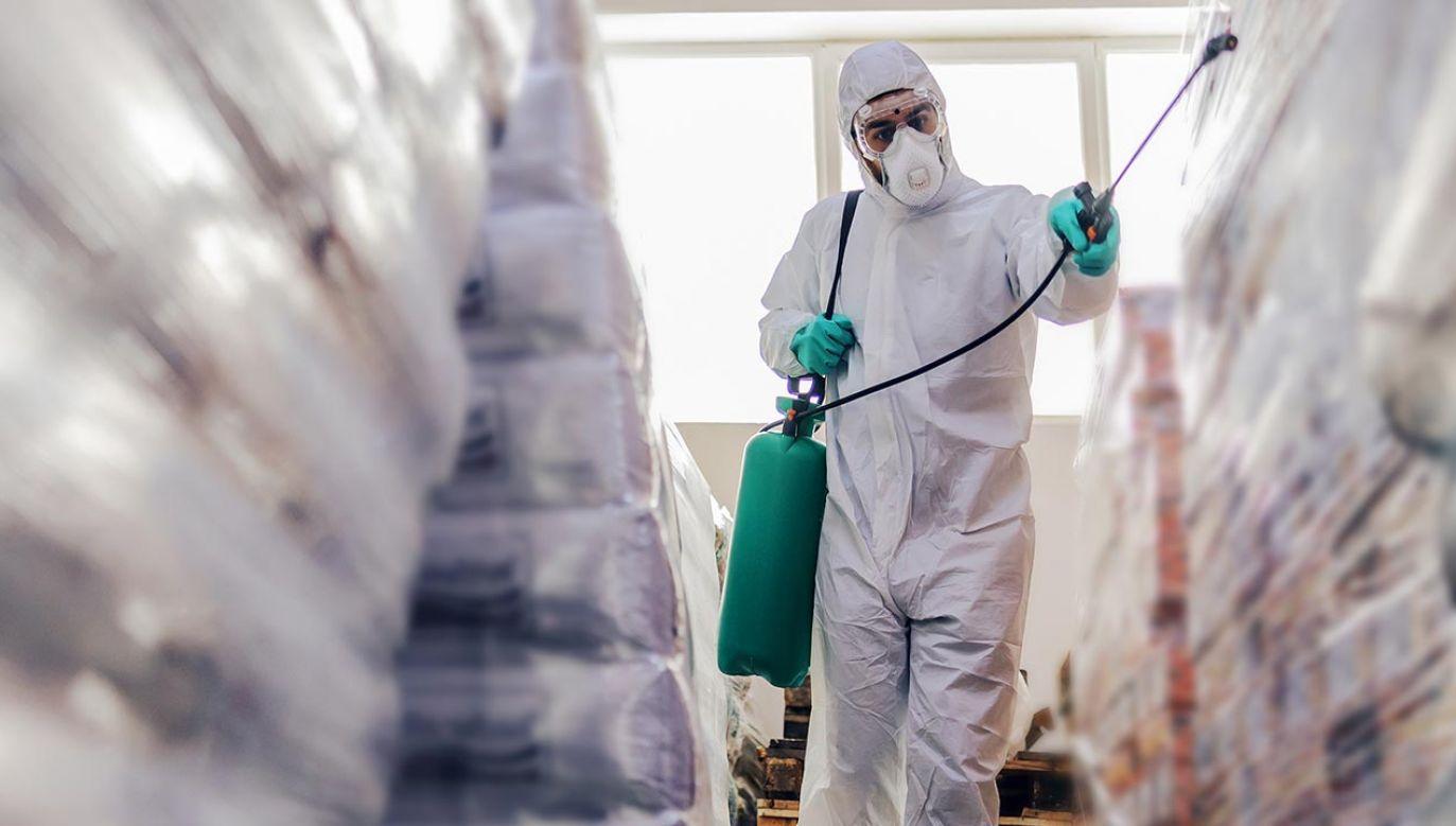 Wicestarosta pajęczański Paweł Sikora zapewnia, że mrożony asortyment nie stanowi żadnego zagrożenia dla klientów (fot. Shutterstock/Dusan Petkovic)