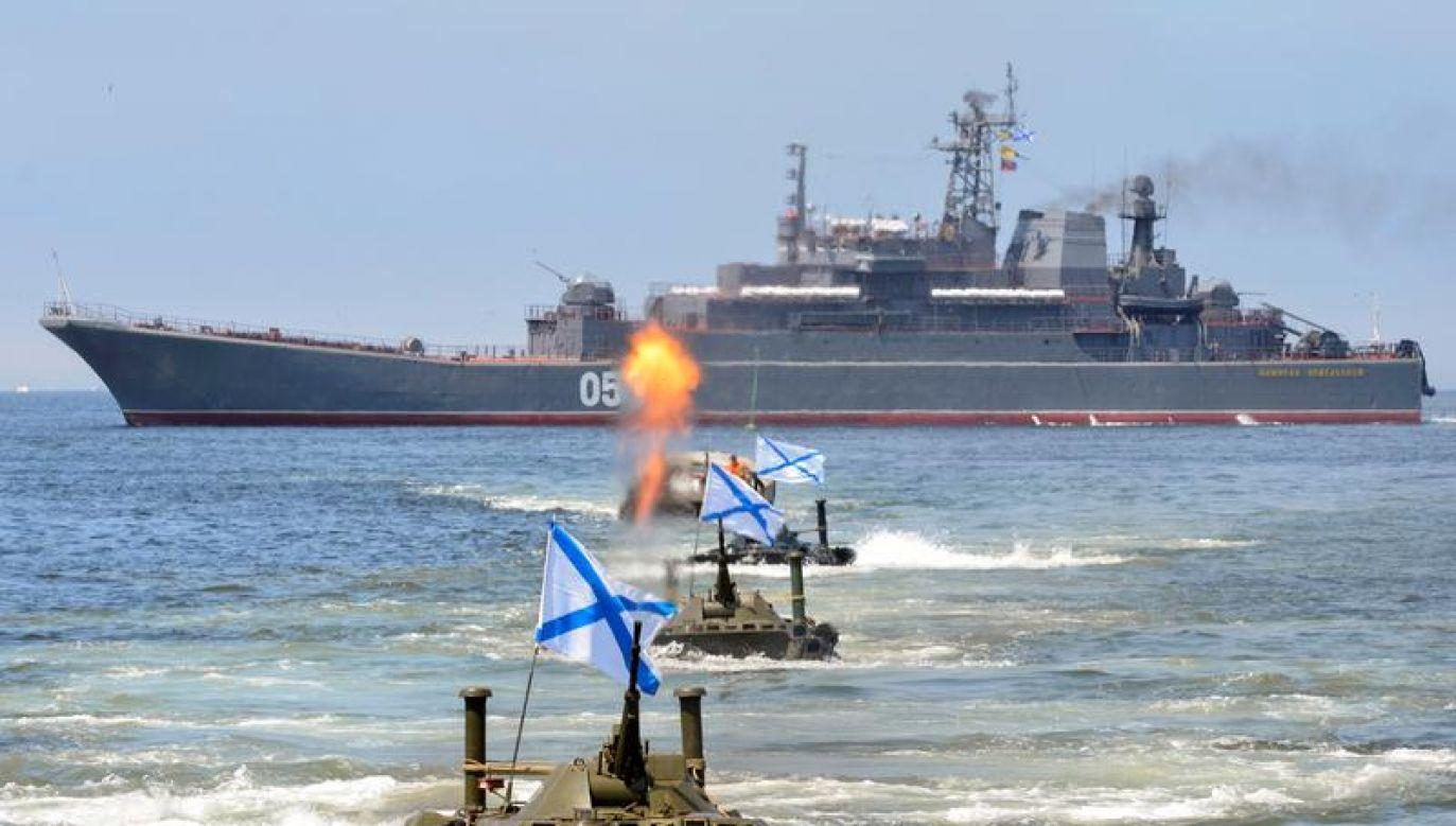 Rosja to klasyczne mocarstwo lądowe, które mimo podejmowanych wysiłków i wielkich ambicji, nigdy nie stanie się morską potęgą (fot. REUTERS/Yuri Maltsev)