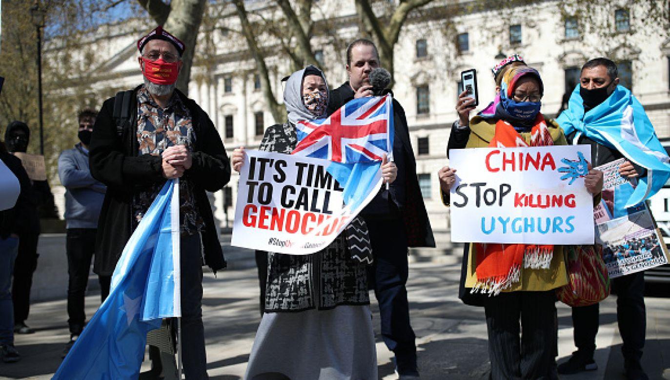 Chiny popełniają ludobójstwo wobec Ujgurów? (fot. Getty Images)