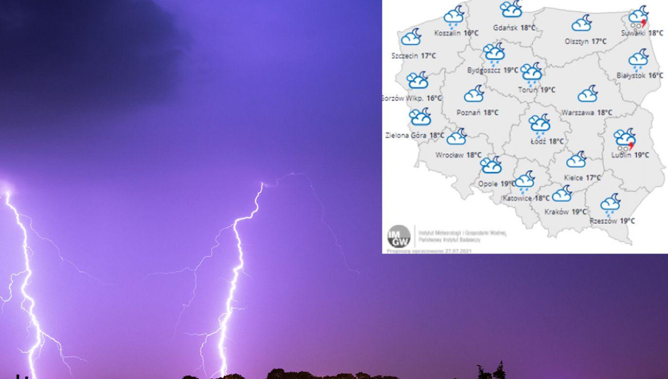 Porywy wiatru wciąż silne do 80 km/h (fot. Shutterstock)