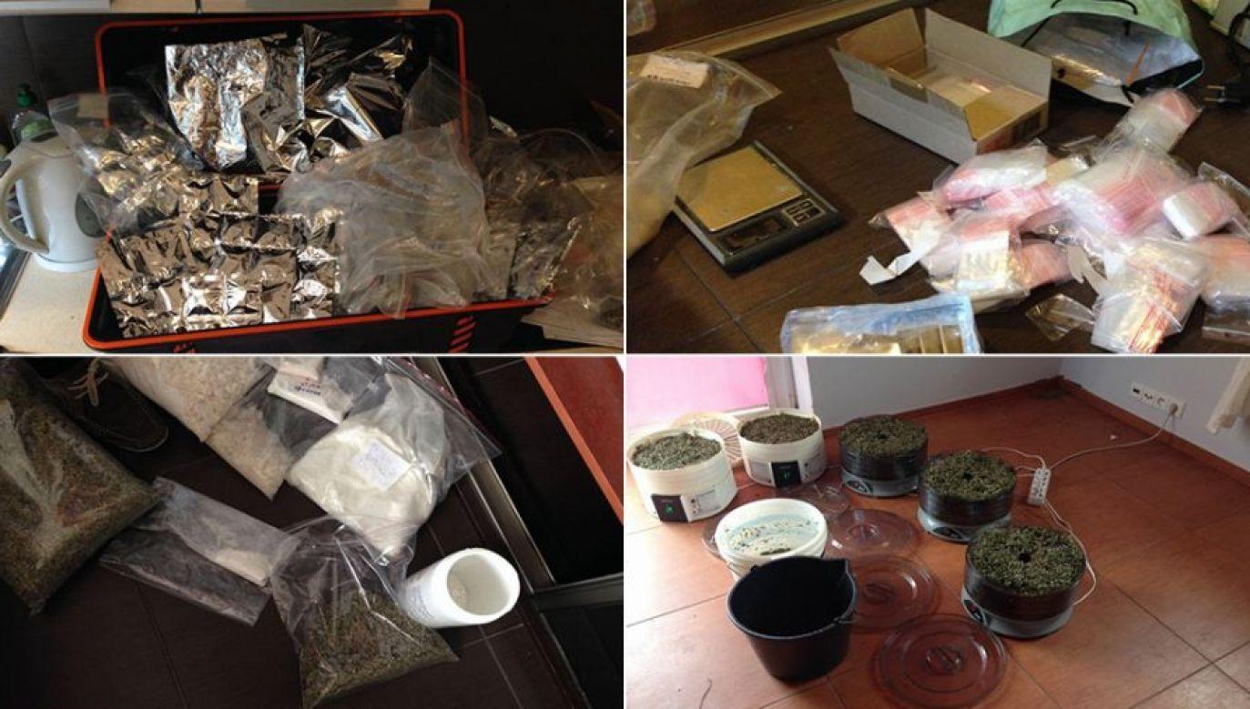 Gang sprzedał dopalacze za ponad 10 milionów złotych (fot. policja, zdjęcie ilustracyjne)
