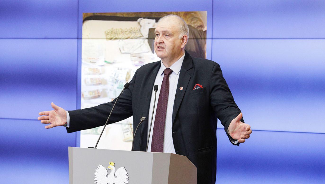 Bogdan Święczkowski Prokurator Krajowy (fot. Forum/Andrzej Hulimka)