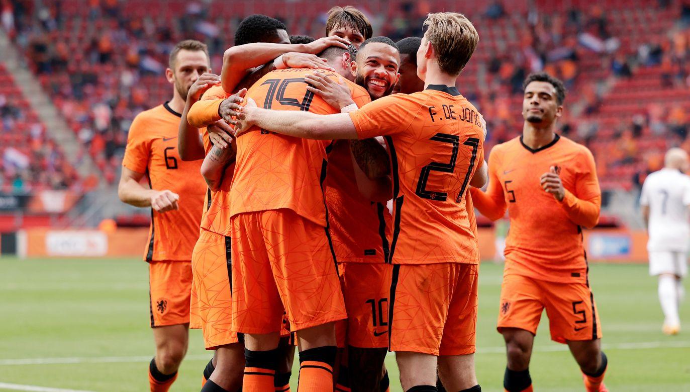 """Holendrzy mogązajść wysoko na Euro raczej jako """"czarny koń"""" niż faworyci do medalu (fot. Getty Images)"""