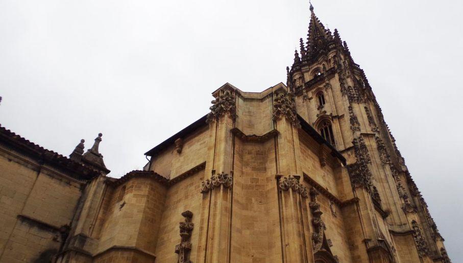 W katedrze w Oviedo znajduje się święte sudarium (fot. portal tvp.info/Beata Sylwestrzak)