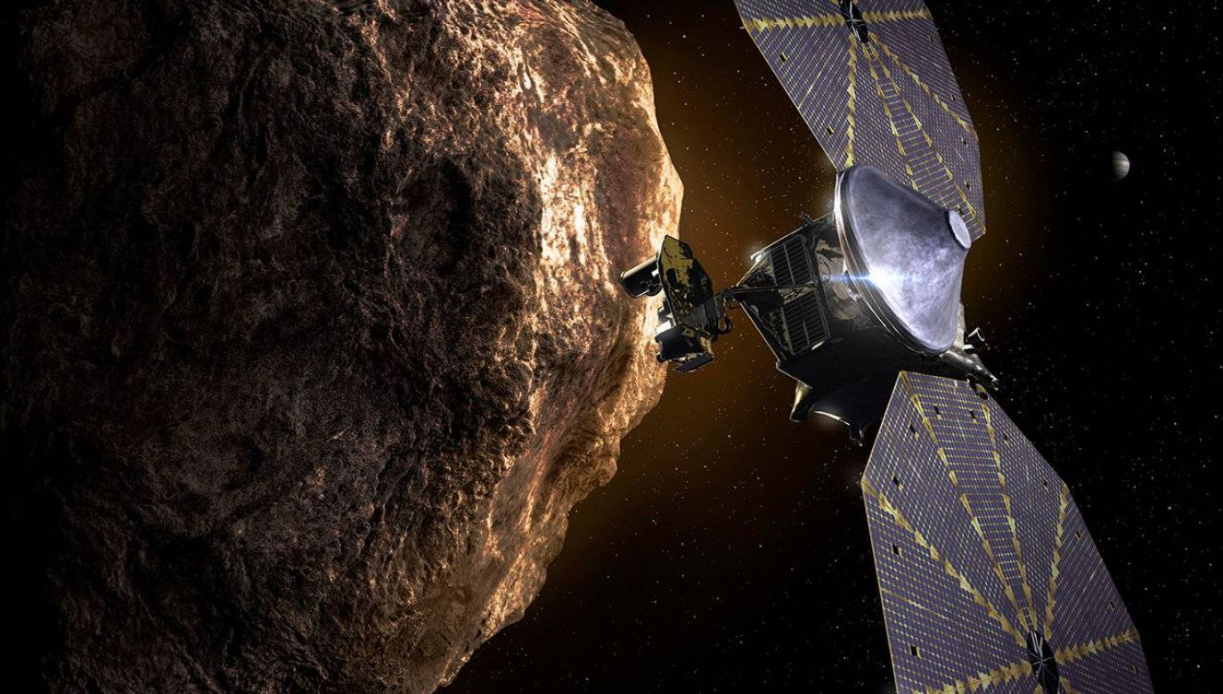 Misja Lucy potrwa 12 lat (graf. NASA)