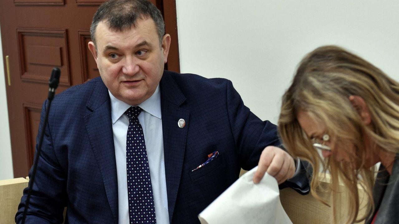 Gawłowski jest oskarżony o siedem przestępstw (fot. arch.PAP/Marcin Bielecki)