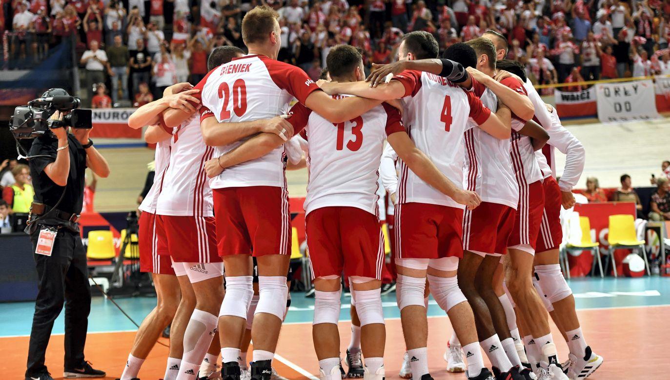 Polacy wygrali w poniedziałek z Niemcami (fot.PAP/Maciej Kulczyński)