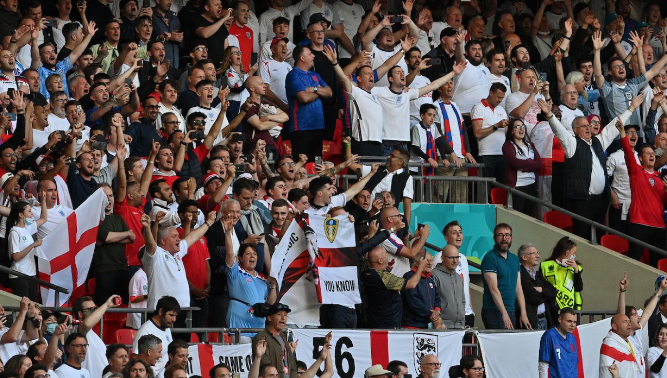 Fani reprezentacji Anglii (fot. Getty)