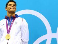 Florent Manaudou, brat słynnej Laure, został mistrzem olimpijskim na dystansie 50 metrów stylem dowolnym (fot. Getty Images)