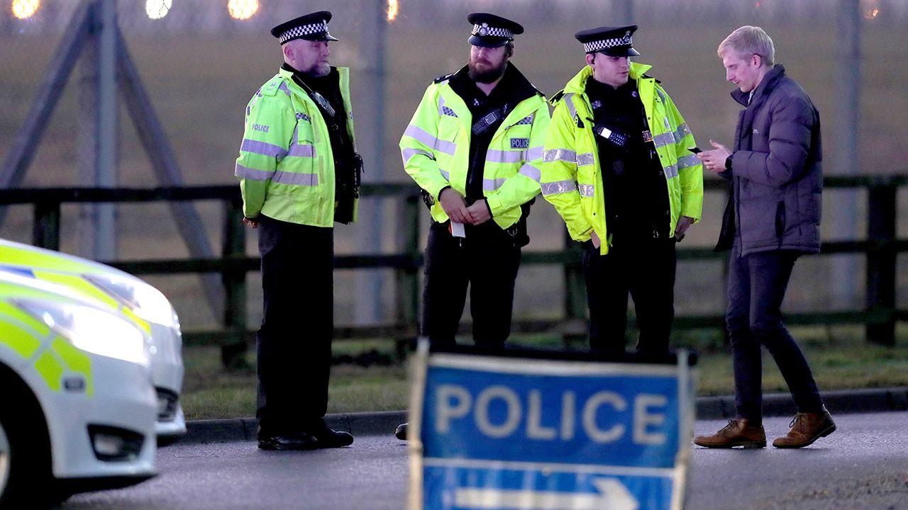 Zatrzymań dokonano na terenie trzech angielskich miast  (fot. REUTERS/Chris Radburn)