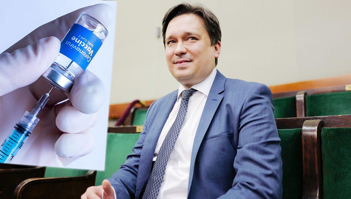 Rzecznik Praw Obywatelskich Marcin Wiącek (fot. PAP/Mateusz Marek; Shutterstock)