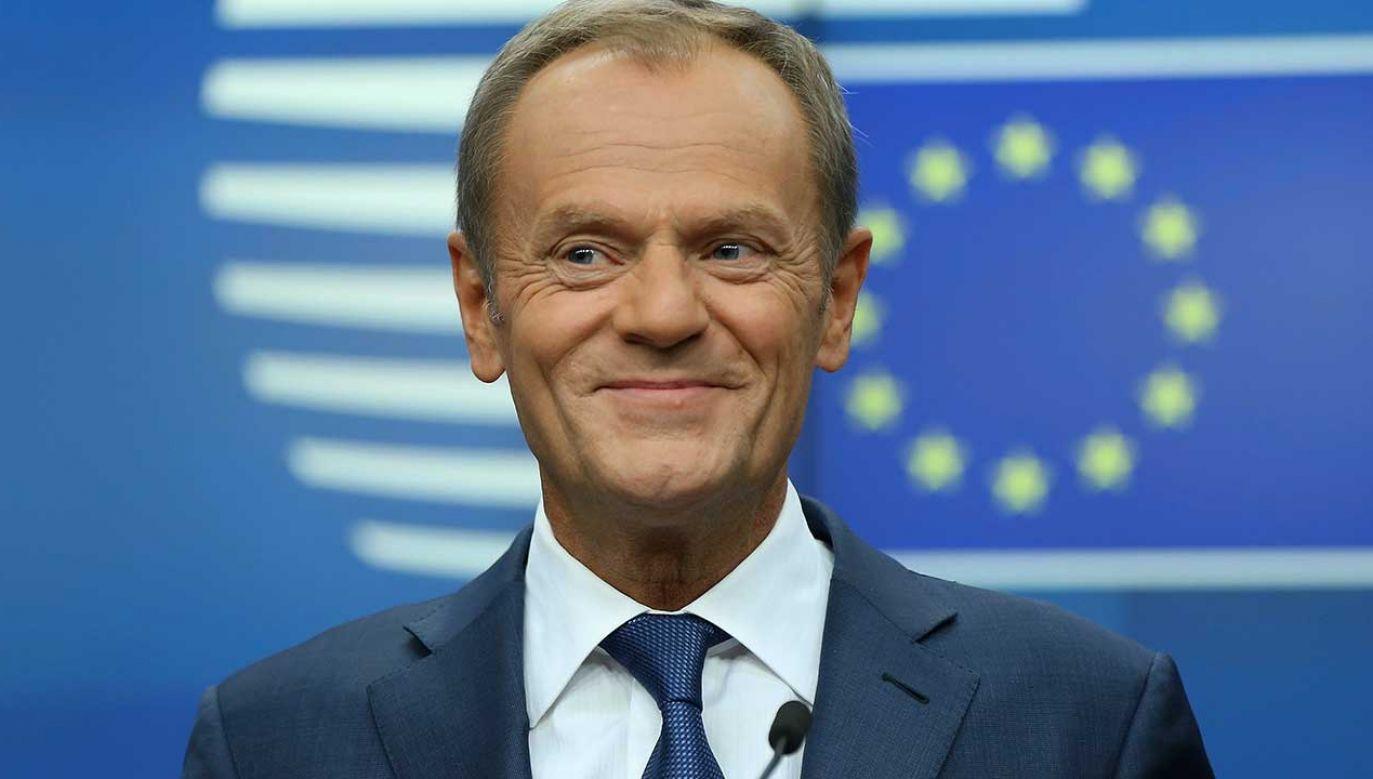 Szef Rady Europejskiej zwierzy się ze swoich przemyśleń dotyczących nie tylko unijnej polityki (fot. Dursun Aydemir/Anadolu Agency/Getty Images)