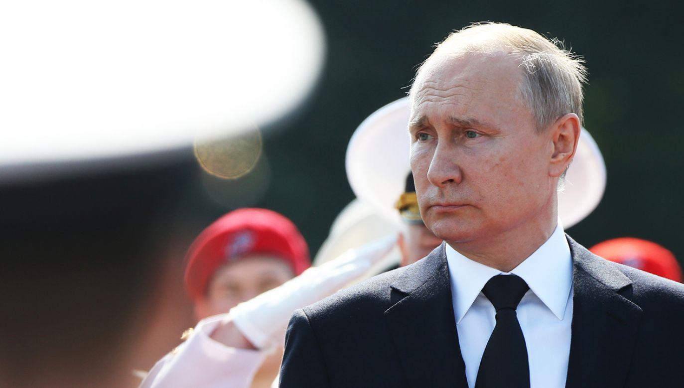 Przemówienie Putina w Jad Waszem znów może być wymierzone w Polskę (fot. Mikhail Svetlov/Getty Images)