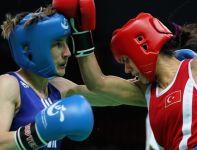 Karolina Michalczuk (L) w Londynie będzie walczyć w kategorii 51 kg (fot. Getty Images)