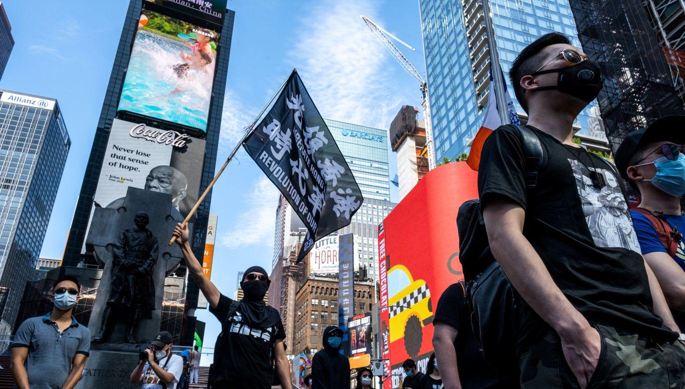 W Hong Kongu trwają protesty (fot. Jeenah Moon/Reuters)