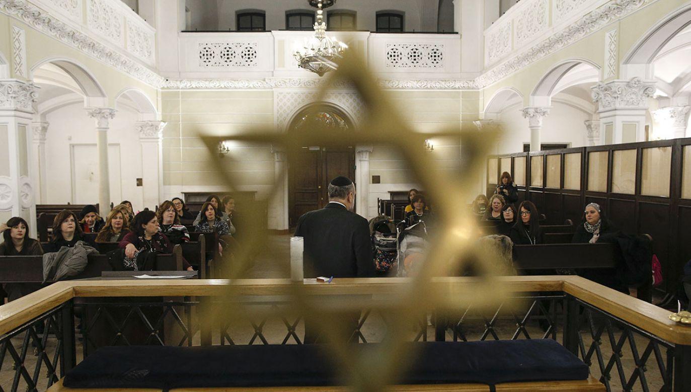 Ankieterzy Ligi Przeciw Zniesławieniom przedstawili mieszkańcom 18 krajów opinie na temat Żydów(fot. Jaap Arriens/NurPhoto via Getty Images)
