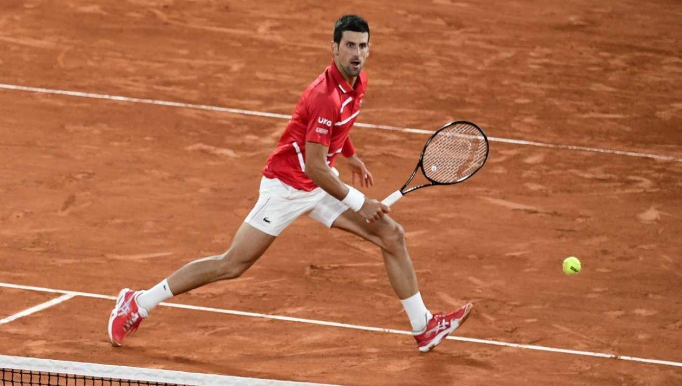 Djokovic z Nadalem zmierzą się po raz 56. (fot. PAP/EPA/YOAN VALAT)