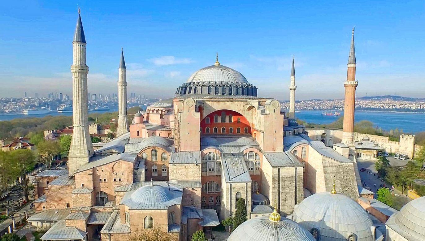Hagia Sophia znajduje się na Liście Światowego Dziedzictwa UNESCO (fot. Shutterstock/murattellioglu)