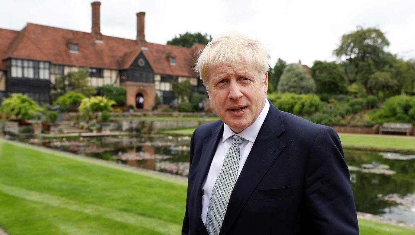 Boris Johnson chce wynegocjować nowe porozumienie wyjścia Wielkiej Brytanii z Unii Europejskiej (fot. REUTERS/Peter Nicholls)