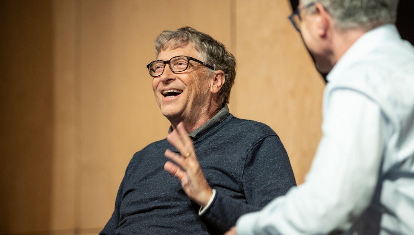 Majątek Billa Gatesa jest wart 110 mld dolarów (fot. Microsoft/mat.pras.)