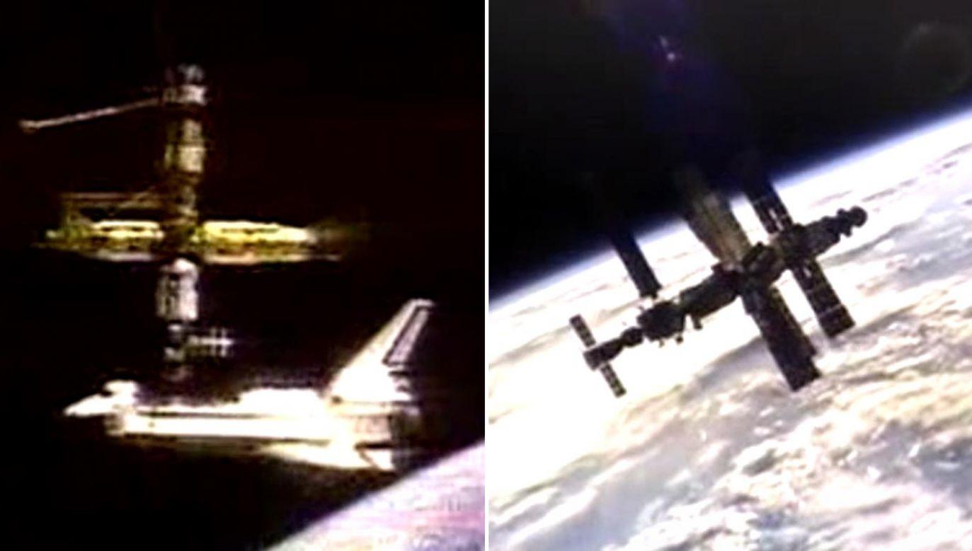 Stany Zjednoczone i Rosja obchodzą 25-lecie pierwszego cumowania promu Atlantis na stacji Mir  (fot. NASA)